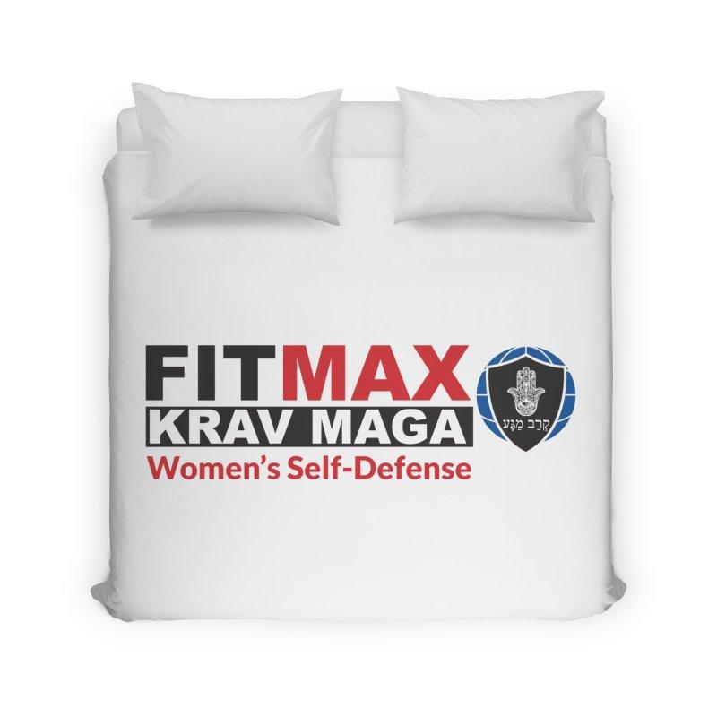 FITMAX Krav Maga - Women's Self Defense Home Duvet by fitmaxkravmaga's Artist Shop
