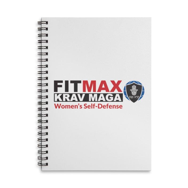 FITMAX Krav Maga - Women's Self Defense Accessories Notebook by fitmaxkravmaga's Artist Shop