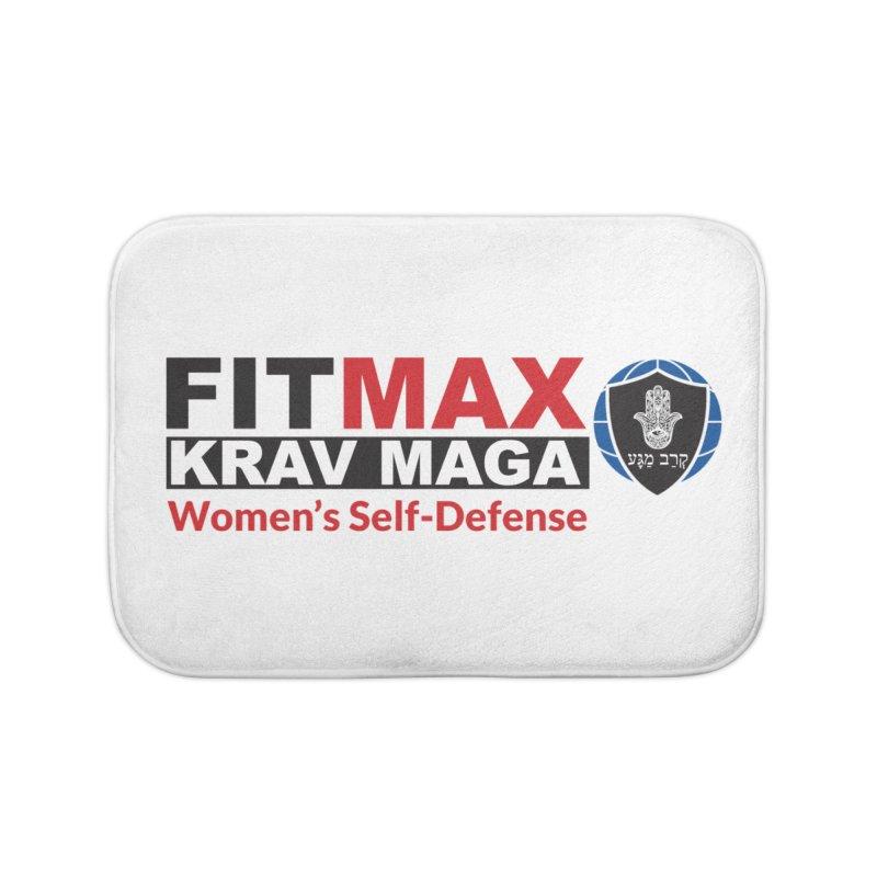 FITMAX Krav Maga - Women's Self Defense Home Bath Mat by fitmaxkravmaga's Artist Shop