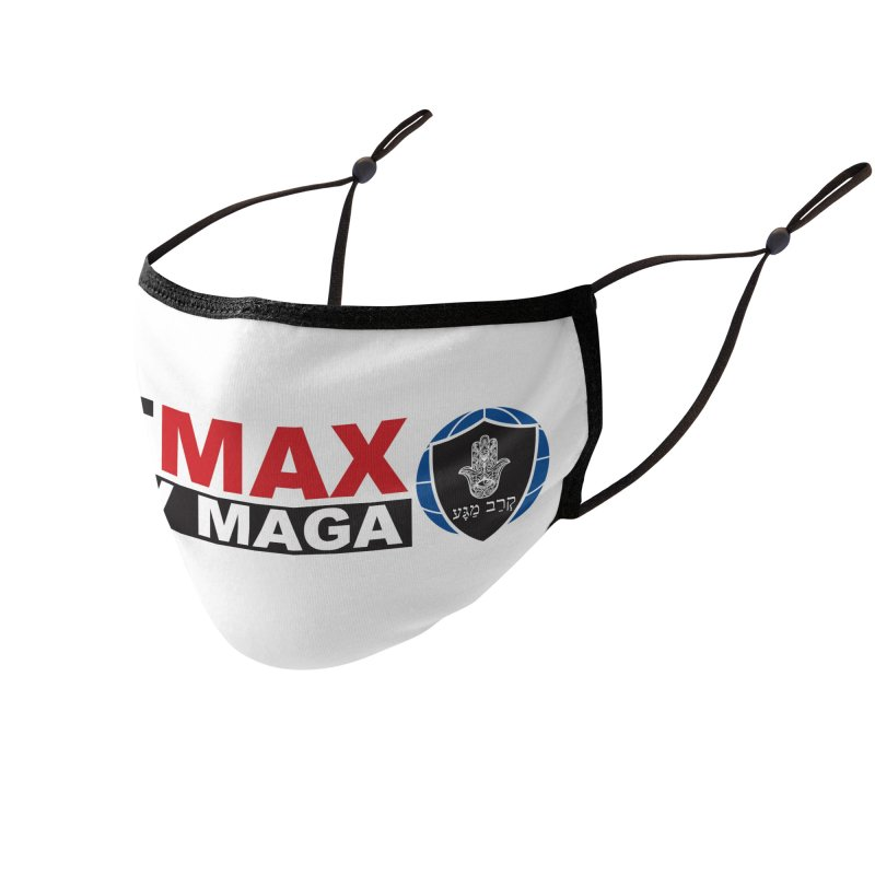 FIT MAX Logo Accessories Face Mask by fitmaxkravmaga's Artist Shop
