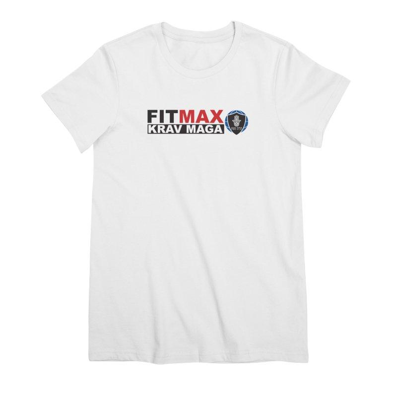 FIT MAX Logo Women's T-Shirt by fitmaxkravmaga's Artist Shop