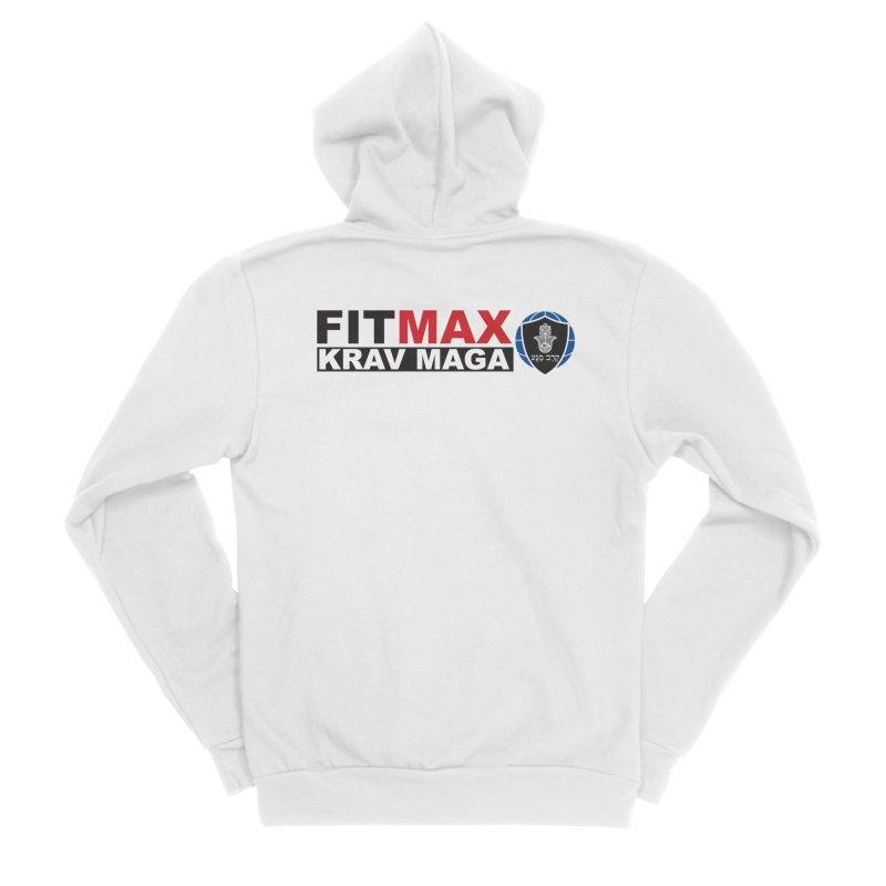 FIT MAX Logo Women's Zip-Up Hoody by fitmaxkravmaga's Artist Shop