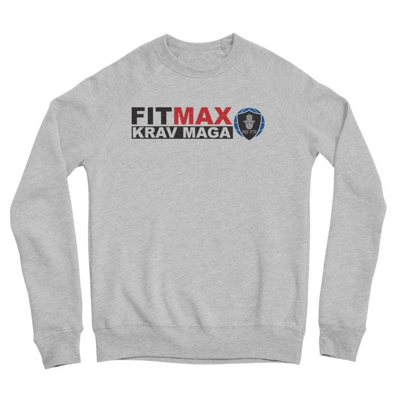 FIT MAX Logo Men's Sweatshirt by fitmaxkravmaga's Artist Shop