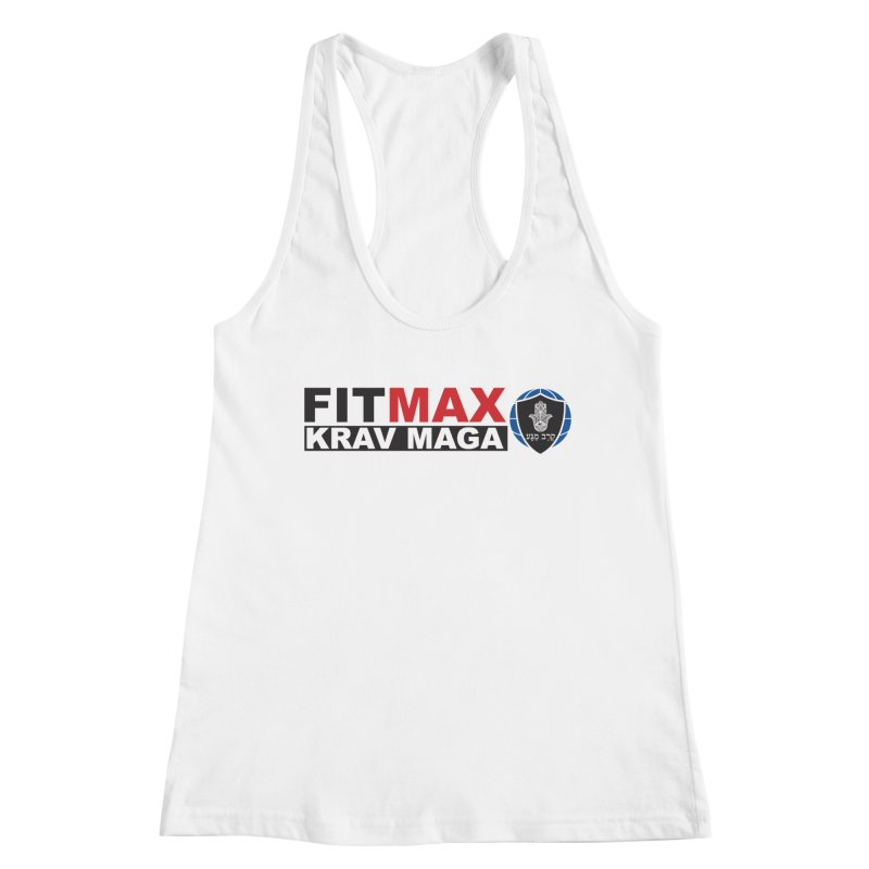 FIT MAX Logo Women's Tank by fitmaxkravmaga's Artist Shop