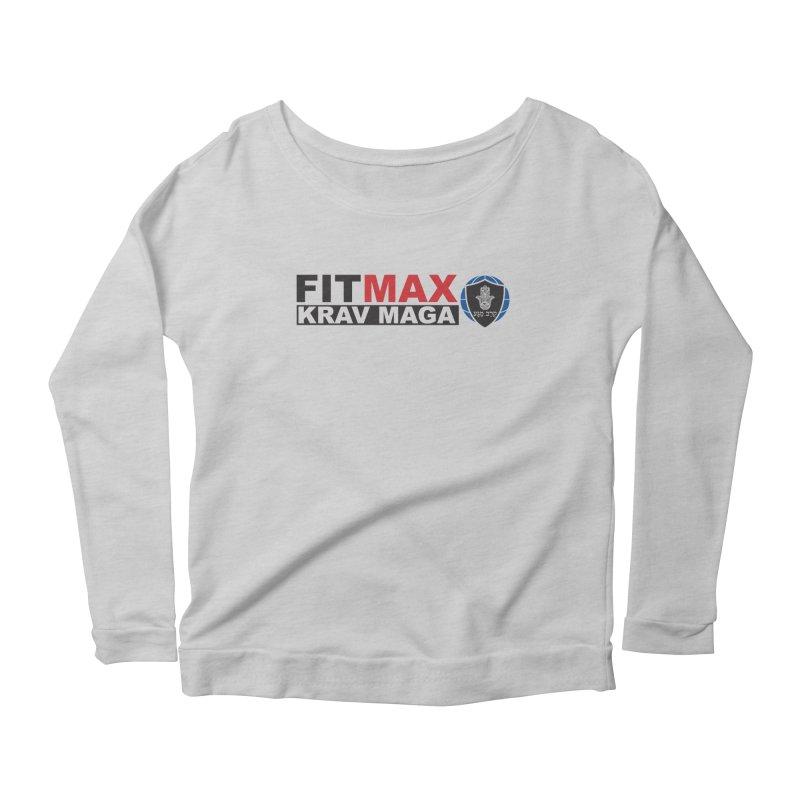 FIT MAX Logo Women's Longsleeve T-Shirt by fitmaxkravmaga's Artist Shop