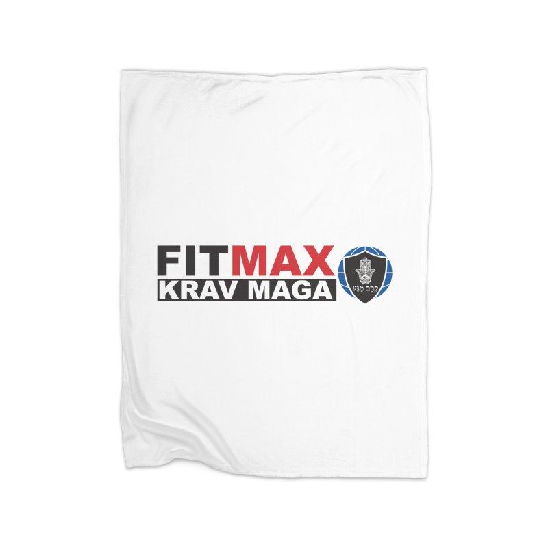 FIT MAX Logo Home Blanket by fitmaxkravmaga's Artist Shop
