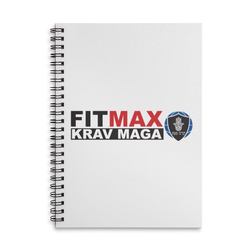 FIT MAX Logo Accessories Notebook by fitmaxkravmaga's Artist Shop
