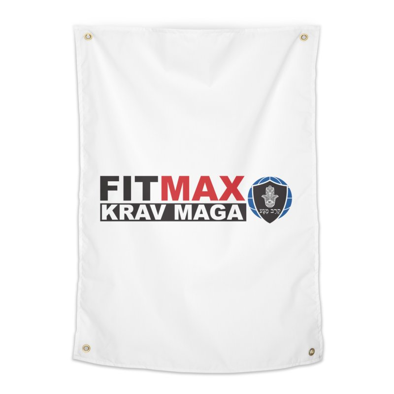 FIT MAX Logo Home Tapestry by fitmaxkravmaga's Artist Shop
