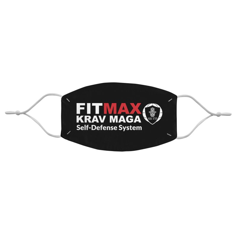 FIT MAX Accessories Face Mask by fitmaxkravmaga's Artist Shop