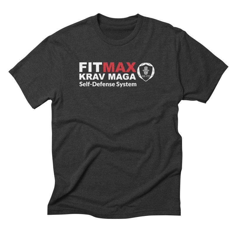 FIT MAX Men's T-Shirt by fitmaxkravmaga's Artist Shop