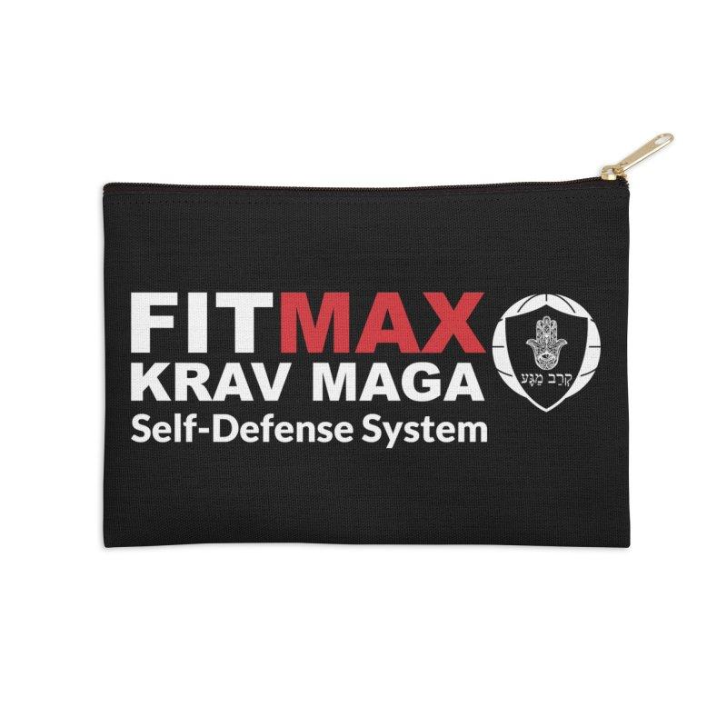 FIT MAX Accessories Zip Pouch by fitmaxkravmaga's Artist Shop