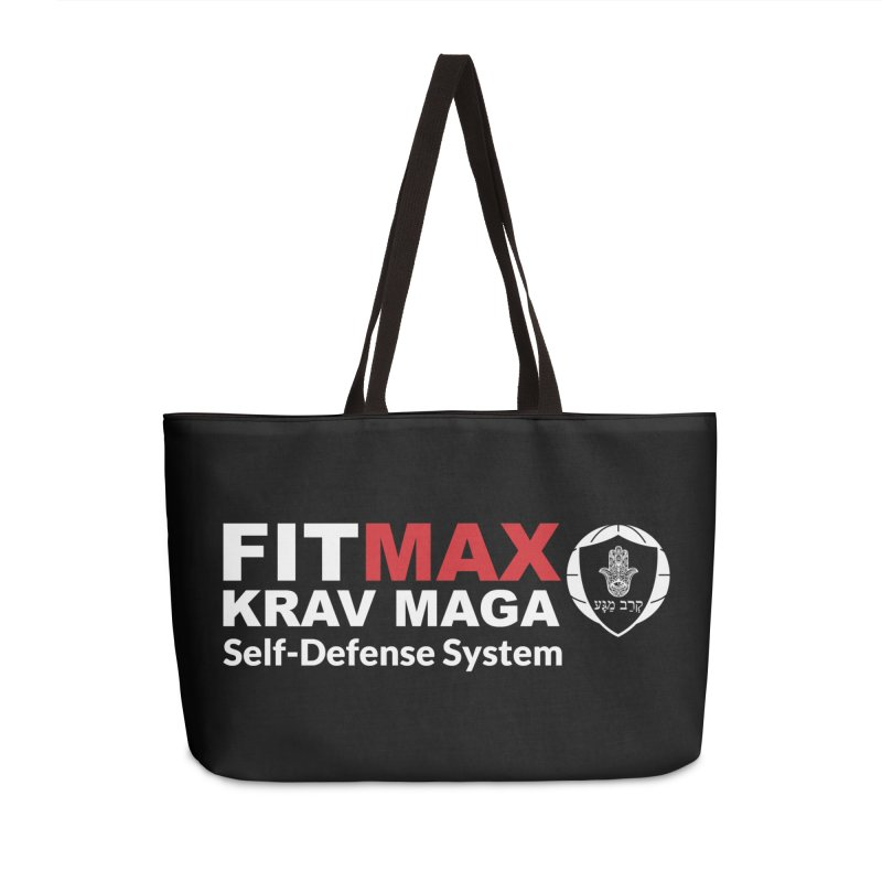 FIT MAX Accessories Bag by fitmaxkravmaga's Artist Shop