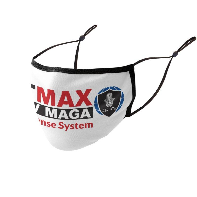 FITMAX Krav Maga - Self Defense System Accessories Face Mask by fitmaxkravmaga's Artist Shop