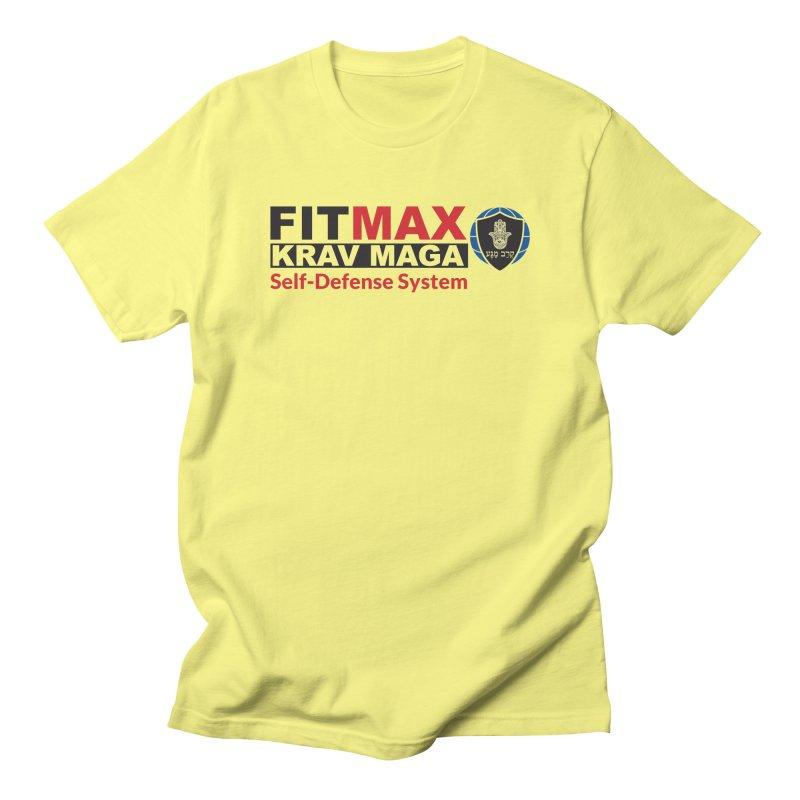 FITMAX Krav Maga - Self Defense System Men's T-Shirt by fitmaxkravmaga's Artist Shop