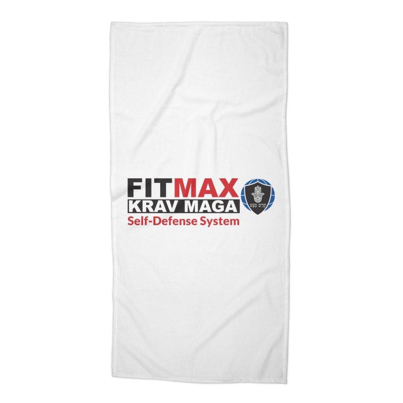 FITMAX Krav Maga - Self Defense System Accessories Beach Towel by fitmaxkravmaga's Artist Shop