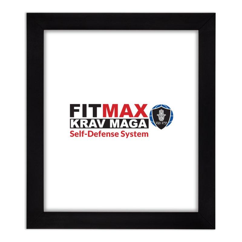 FITMAX Krav Maga - Self Defense System Home Framed Fine Art Print by fitmaxkravmaga's Artist Shop