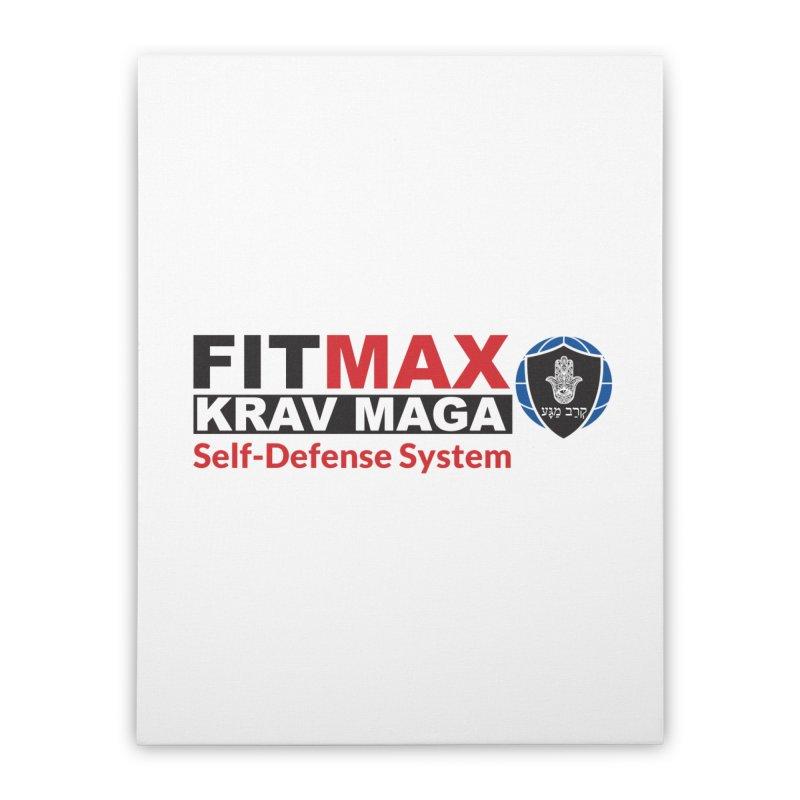 FITMAX Krav Maga - Self Defense System Home Stretched Canvas by fitmaxkravmaga's Artist Shop