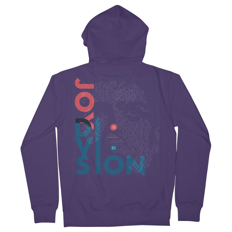 Transmission Women's French Terry Zip-Up Hoody by fitterhappierdesign's Artist Shop