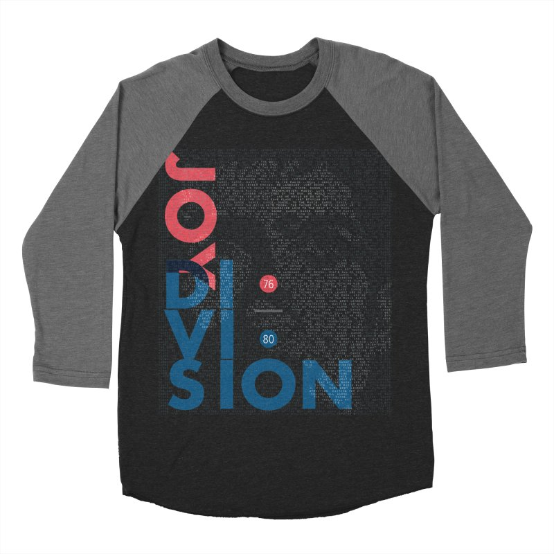 Transmission Men's Baseball Triblend T-Shirt by fitterhappierdesign's Artist Shop