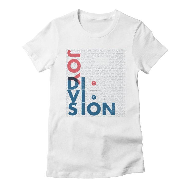 Transmission Women's Fitted T-Shirt by fitterhappierdesign's Artist Shop