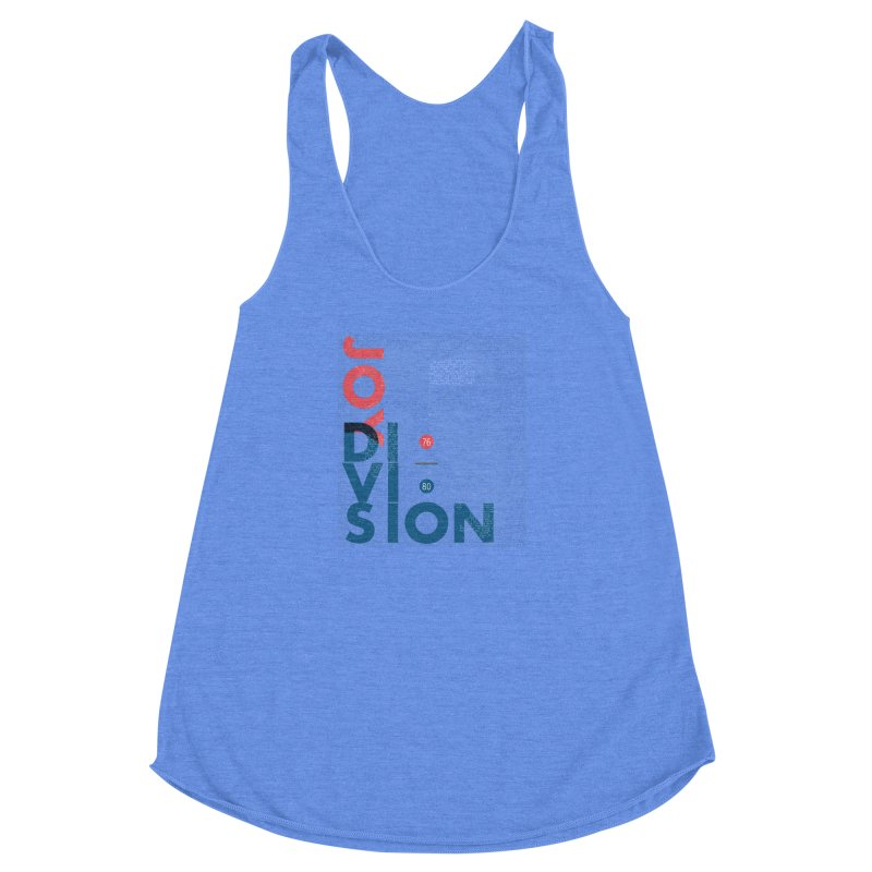 Transmission Women's Racerback Triblend Tank by fitterhappierdesign's Artist Shop