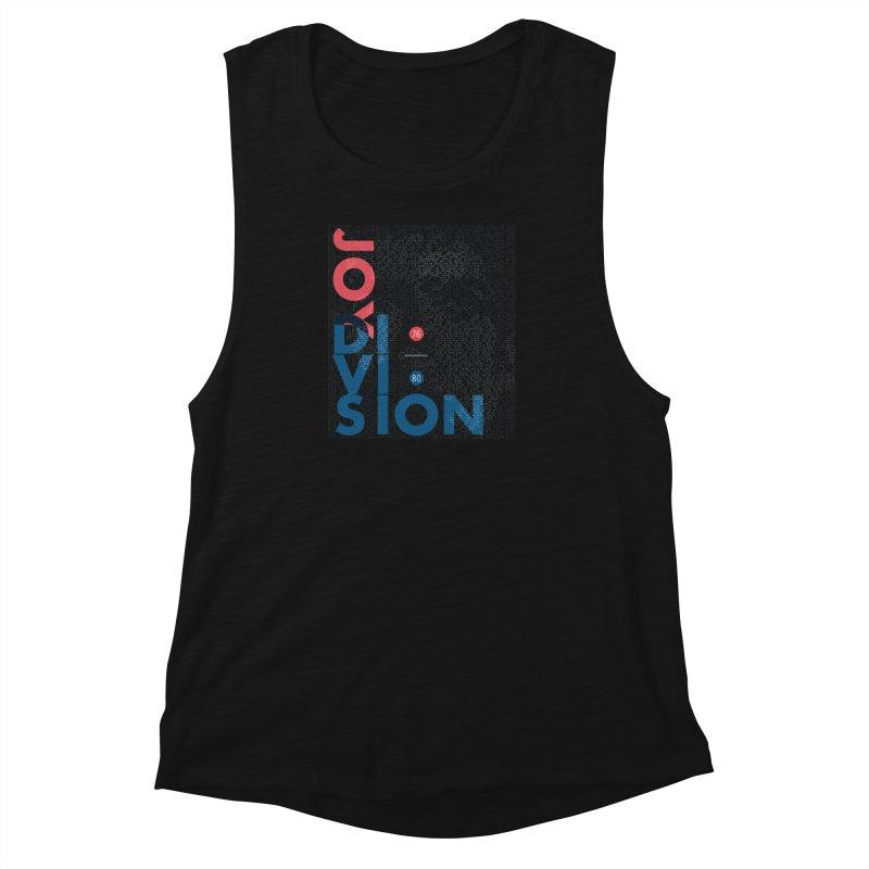 Transmission Women's Muscle Tank by fitterhappierdesign's Artist Shop