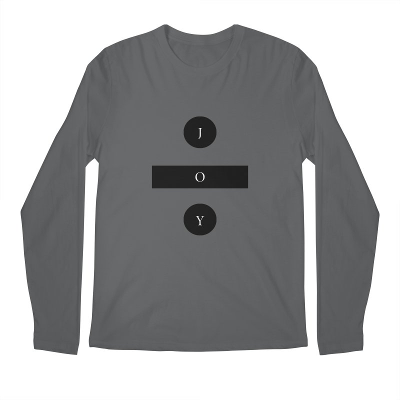 Joy Division Men's Regular Longsleeve T-Shirt by fitterhappierdesign's Artist Shop
