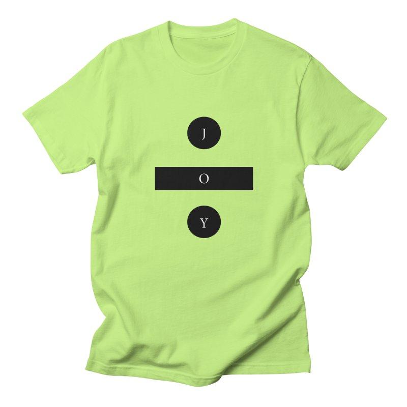 Joy Division Men's Regular T-Shirt by fitterhappierdesign's Artist Shop