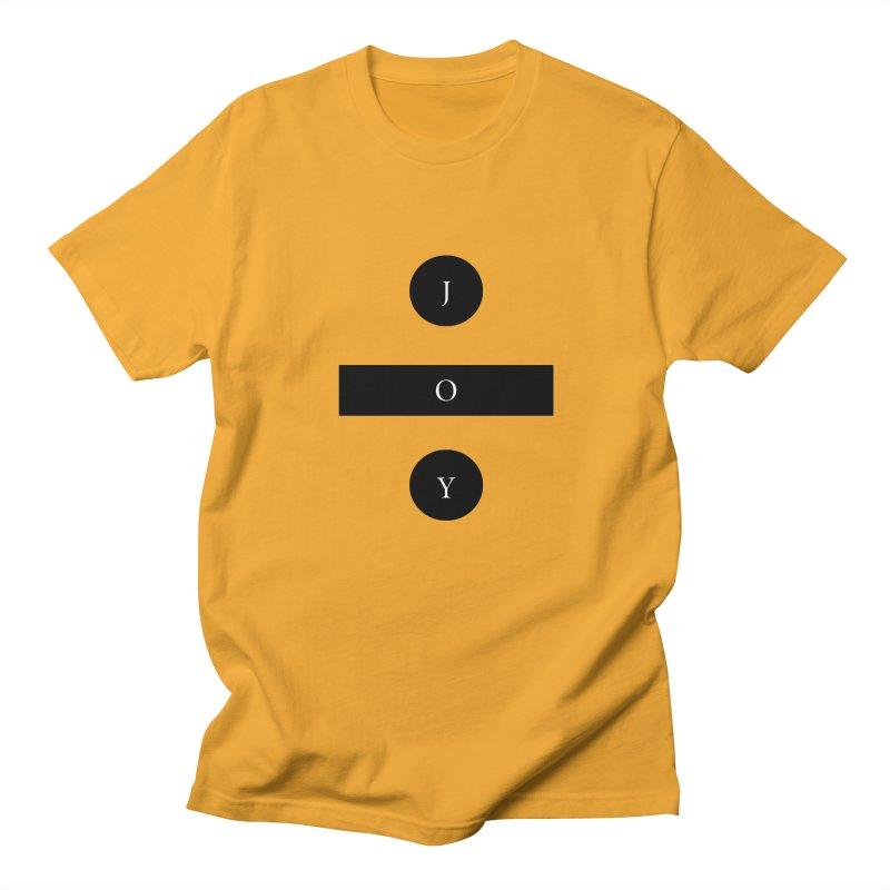 Joy Division Men's T-Shirt by fitterhappierdesign's Artist Shop