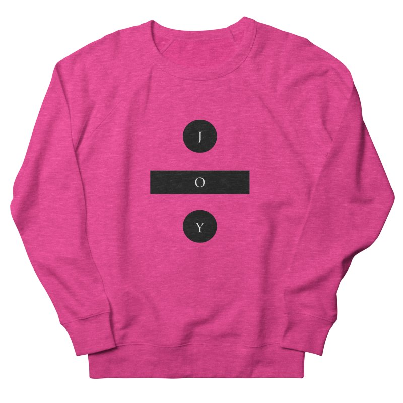Joy Division Women's French Terry Sweatshirt by fitterhappierdesign's Artist Shop