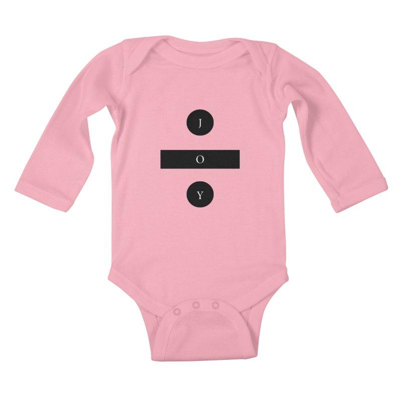 Joy Division Kids Baby Longsleeve Bodysuit by fitterhappierdesign's Artist Shop