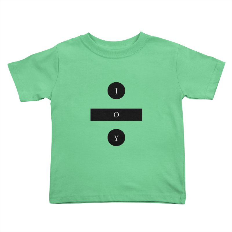 Joy Division Kids Toddler T-Shirt by fitterhappierdesign's Artist Shop