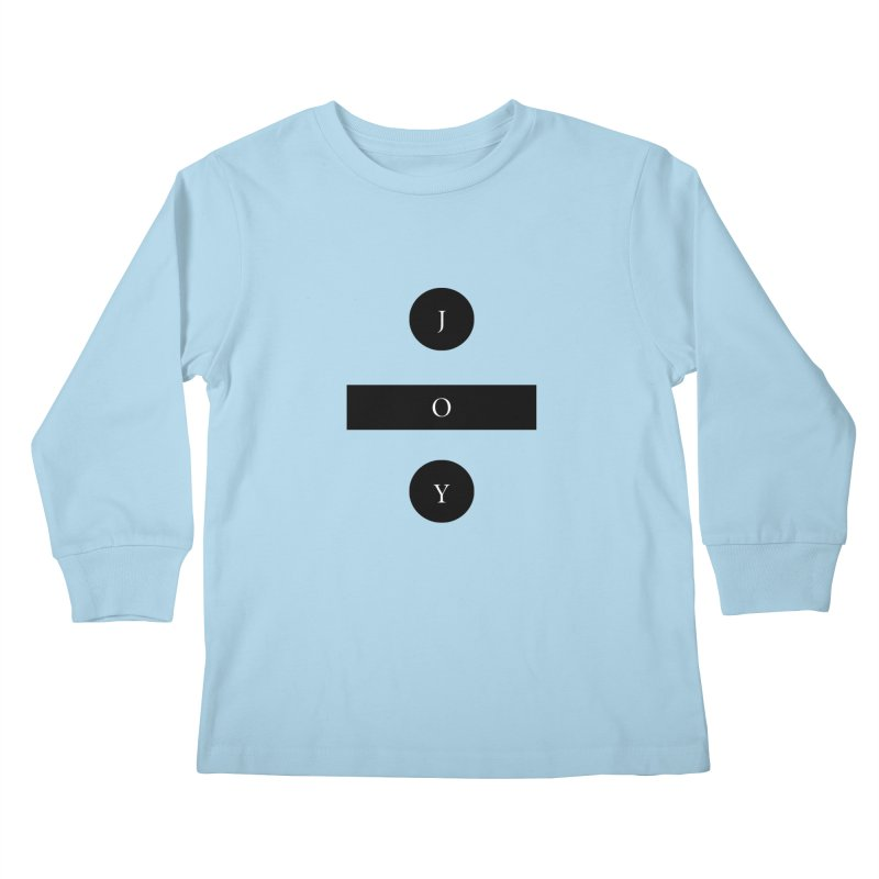 Joy Division Kids Longsleeve T-Shirt by fitterhappierdesign's Artist Shop