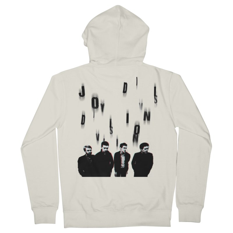 Joy Division Photocopy Women's French Terry Zip-Up Hoody by fitterhappierdesign's Artist Shop