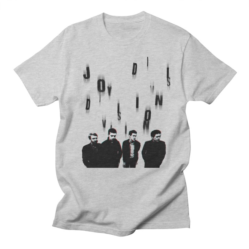 Joy Division Photocopy Men's T-Shirt by fitterhappierdesign's Artist Shop