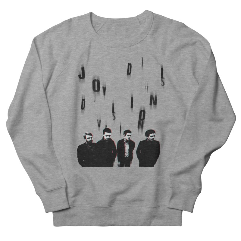 Joy Division Photocopy Men's French Terry Sweatshirt by fitterhappierdesign's Artist Shop