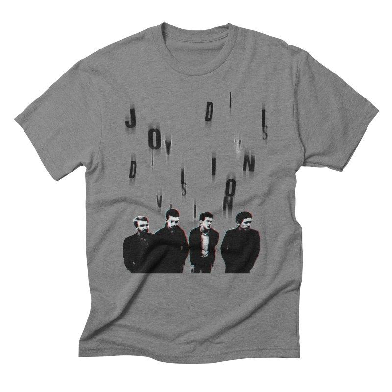 Joy Division Photocopy Men's Triblend T-Shirt by fitterhappierdesign's Artist Shop