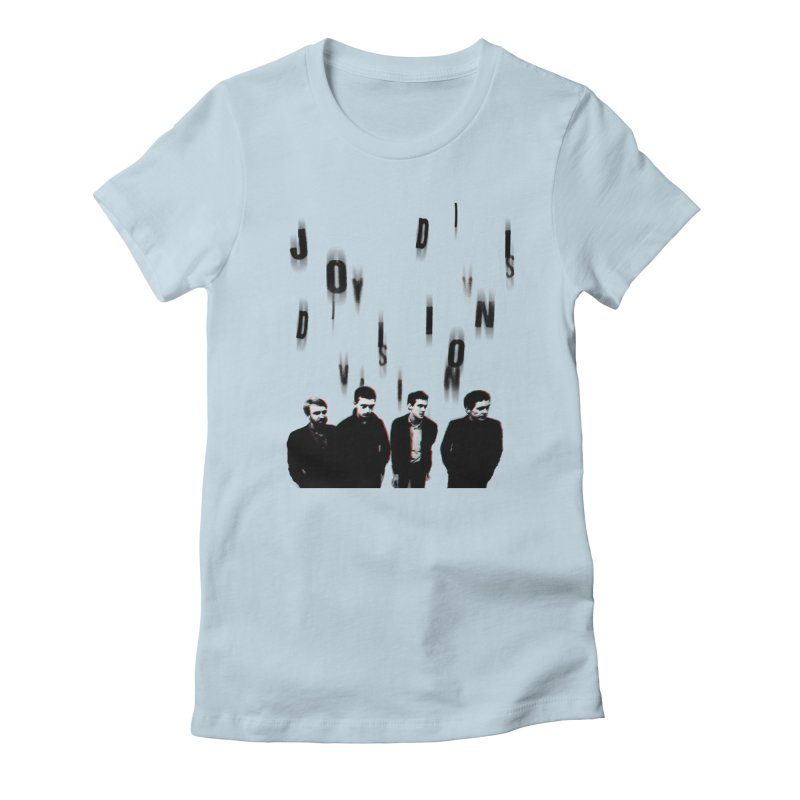 Joy Division Photocopy Women's Fitted T-Shirt by fitterhappierdesign's Artist Shop