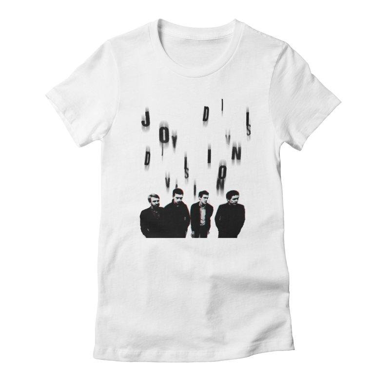 Joy Division Photocopy Women's Fitted T-Shirt by fitterhappierdesign's Artist Shop