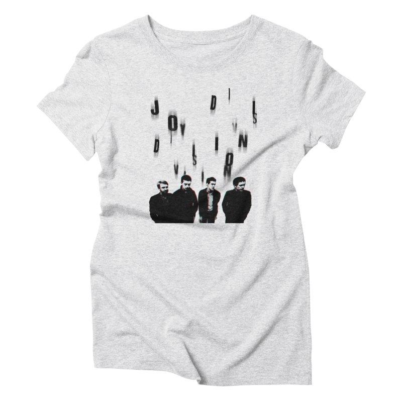 Joy Division Photocopy Women's Triblend T-Shirt by fitterhappierdesign's Artist Shop