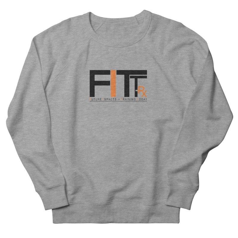 FITT-RX black logo Men's Sweatshirt by FITT-RX's Apparel Shop