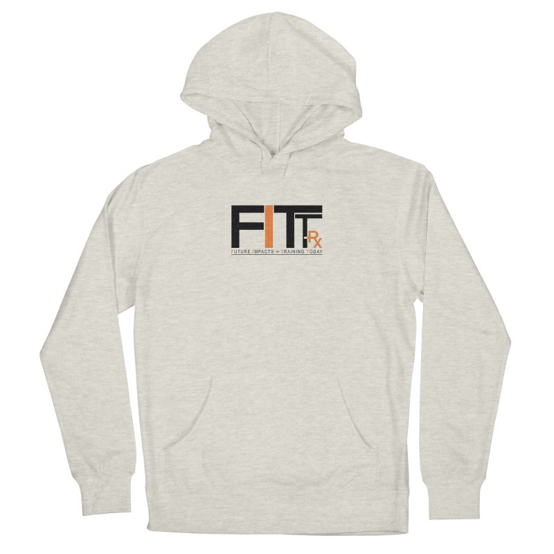 FITT-RX black logo Men's Pullover Hoody by FITT-RX's Apparel Shop