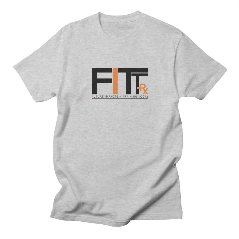 FITT-RX black logo Men's Regular T-Shirt by FITT-RX's Apparel Shop