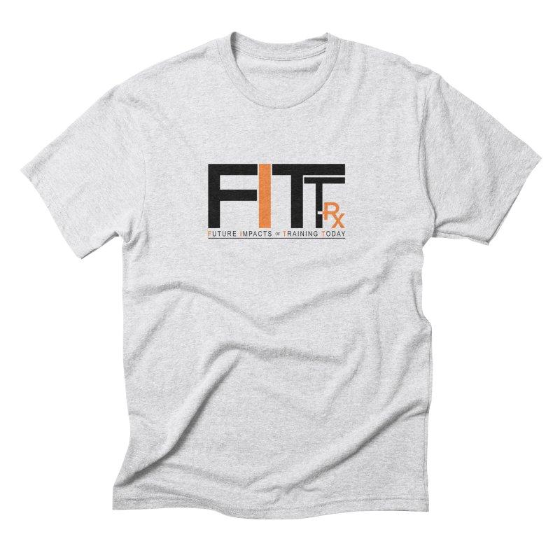 FITT-RX black logo Men's Triblend T-Shirt by FITT-RX's Apparel Shop