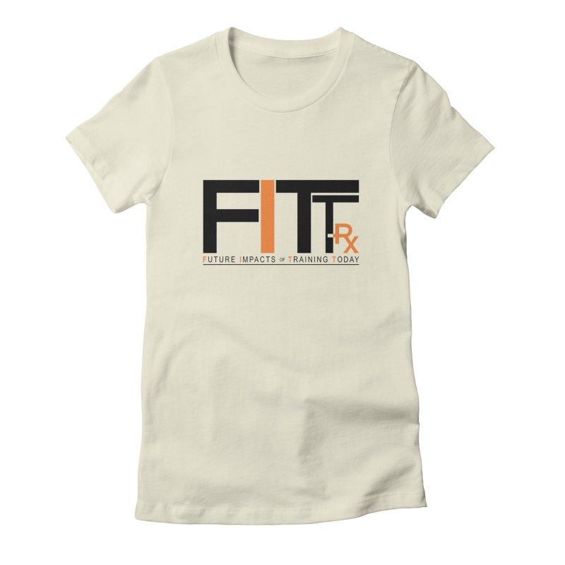 FITT-RX black logo Women's T-Shirt by FITT-RX's Apparel Shop