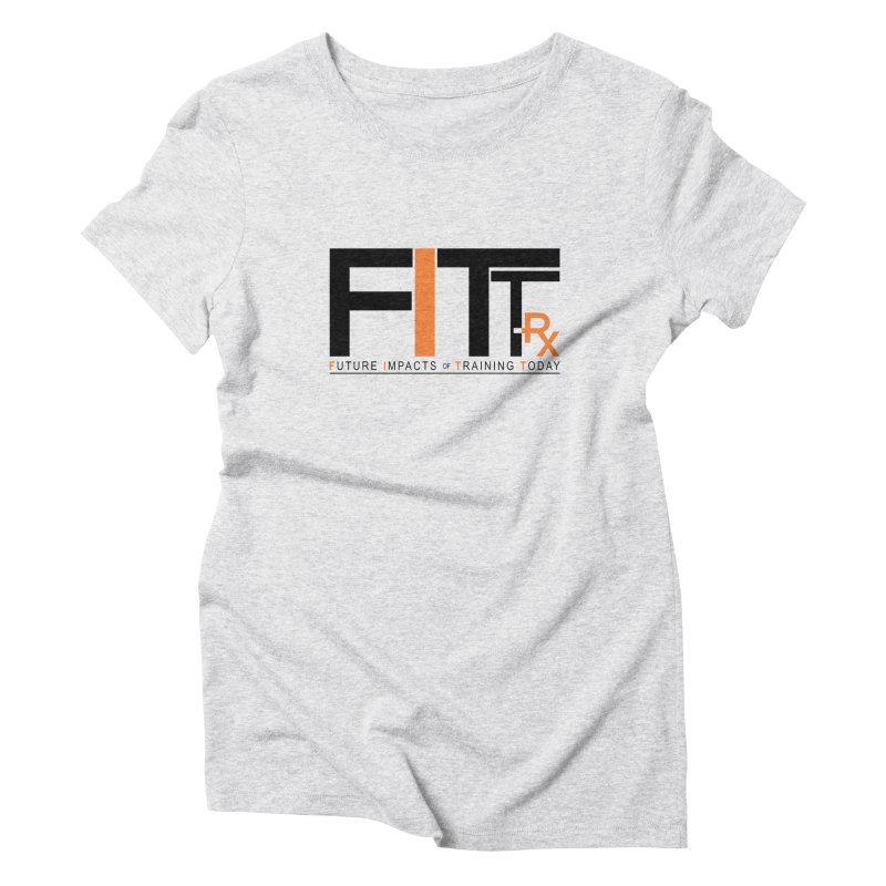 FITT-RX black logo Women's T-Shirt by FITT-RX's Apparel Shop