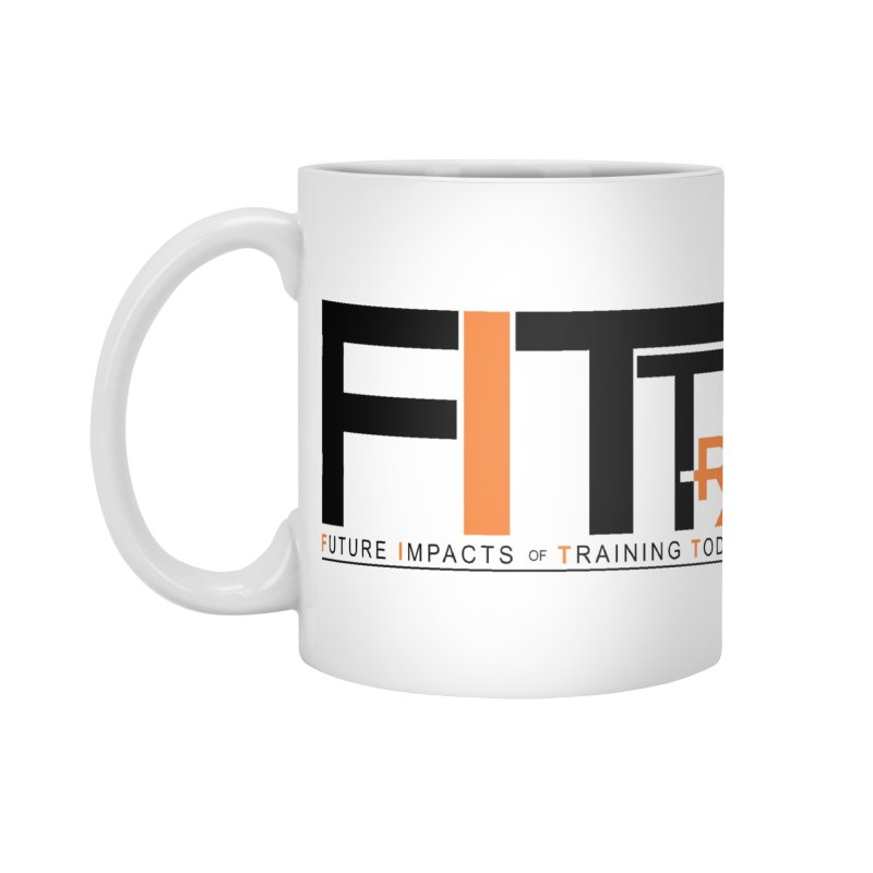 FITT-RX black logo Accessories Mug by FITT-RX's Apparel Shop