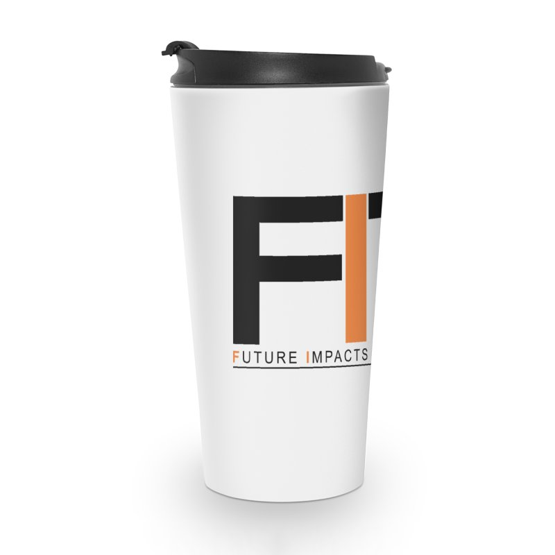 FITT-RX black logo Accessories Travel Mug by FITT-RX's Apparel Shop