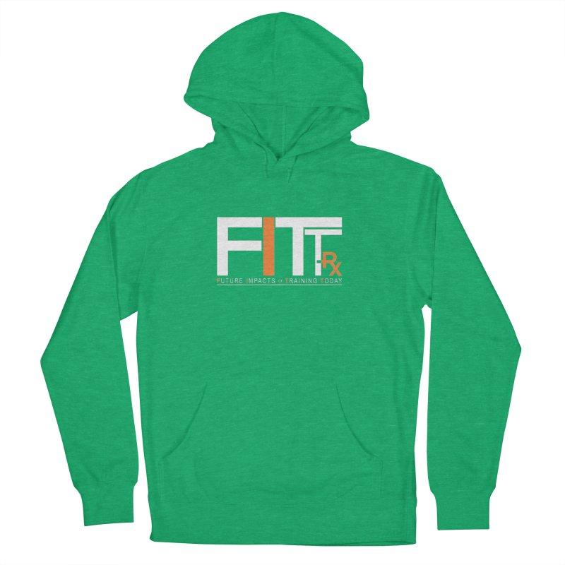 FITT-RX white logo Men's Pullover Hoody by FITT-RX's Apparel Shop