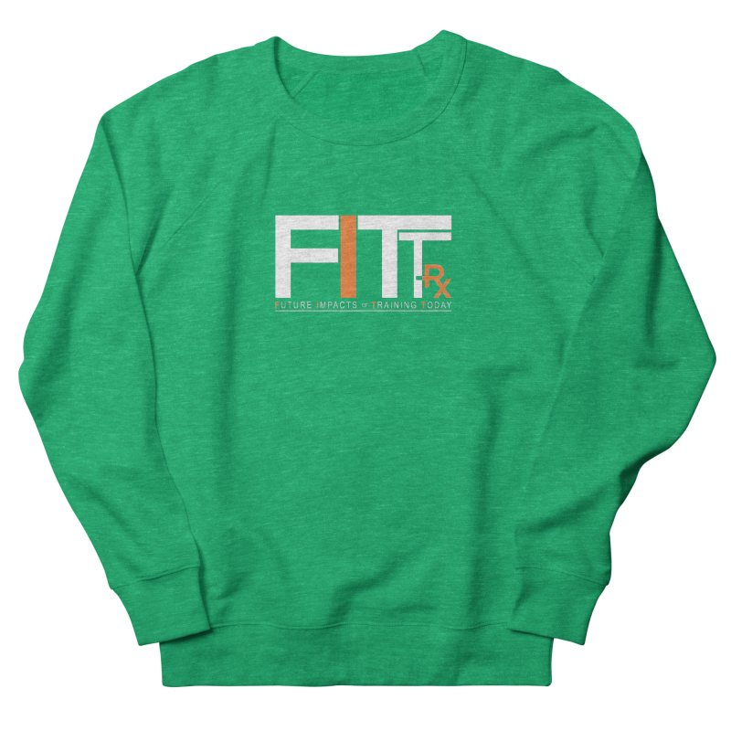FITT-RX white logo Women's Sweatshirt by FITT-RX's Apparel Shop